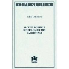 Alcune postille sulle lingue dei valdostani di Tullio Omezzoli